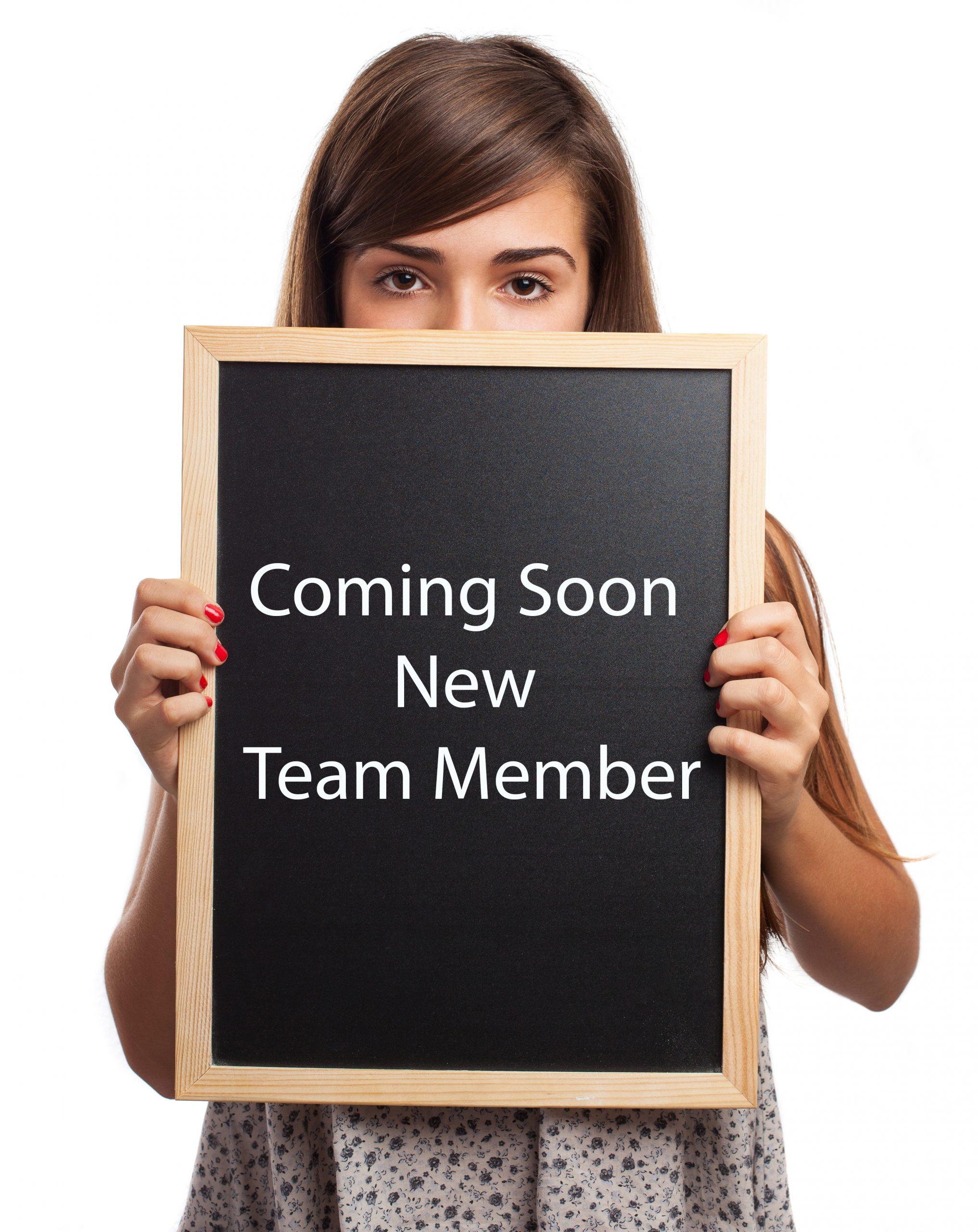 New Staff Member